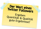Wert eines Follower